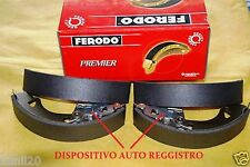 FIAT PANDA 1993-> Rear Brake Shoe Set GANASCE FRENO POSTERIORI