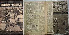 Sport-Schau Wien  24.09.1947     Öster.Liga,Statistiken,Bilder,etc.  !!  SELTEN