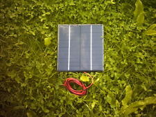 Resina 12V3.6W pcb panel solar para alimentar motores hasta 12V 300MA