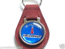 Plymouth Reliant Keychain Suede Like? Key Chain (#597)