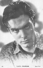 CARTE PHOTO DENTELEE LOUIS JOURDAN