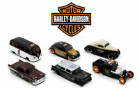 MAISTO HARLEY DAVIDSON MOTOR CYCLES HD CUSTOM DIE CAST CARS 1:64 SCALE