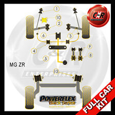 MG ZR Powerflex Black Complete Bush Kit