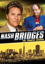 NASH BRIDGES : THE FOURTH SEASON 4 DON JOHNSON NEW SEALED 5-DISC-SET NEW DVD