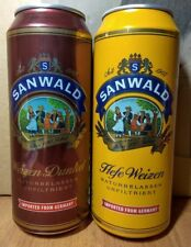 SANWALD 500ml beer cans made in GERMANY for Russian Supermarket