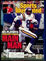 SI: Sports Illustrated January 18, 1988 Anthony Carter, Football, Vikings, VG