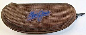 Maui Jim Brown Zipper Sunglasses Case