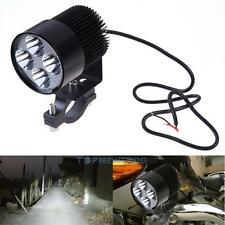 Aluminum Motorcycle Motorbike 12V-85V 4 LED Front Headlight Spot Light Head Lamp