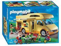 Playmobil 3647 Family FUN Camping car 4 Personnages acc pique-nique 45 pièces