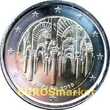 Pièces euro d'Espagne pour 2 euro Année 2010