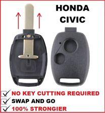 2B Honda Civic Car Key Remote Case 2003 2004 2005 2006 2007 2008 2009 2010 2011