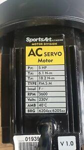 Ac servo motor 5hp 230V 3600rpm