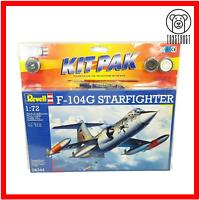 Revell 04344  F-104G Starfighter Model Kit Pak 1:72 Vintage 1995 Factory Sealed