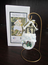 CHICAGO WHITE SOX Home Sweet Home Snow Globe Ornament NEW in box CHRISTMAS