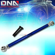 FOR 89-98 NISSAN 240SX BLUE ADJUSTABLE REAR LOWER TRACTION SUPPORT TIE ROD/BAR