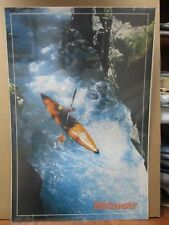 Vintage 1987 rafting whitewater raft boat Inv#G1233