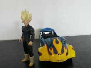 FUNimation Jakks Pacific Dragin Ball Z 3-Wheel Car 668 SS Gohan Figure Set Loose