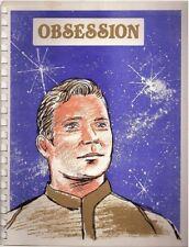 """Star Trek TOS Fanzine """"Obsession 1, 2, 3"""" Gen Vintage Kirk"""