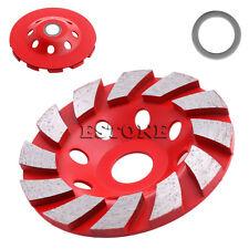 4'' 100mm Diamond Grinding Wheel Concrete Cup Disc Concrete Masonry Stone Tool H