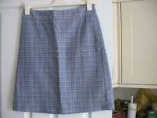 White Stuff Grey, Patterned Skirt, Size 10