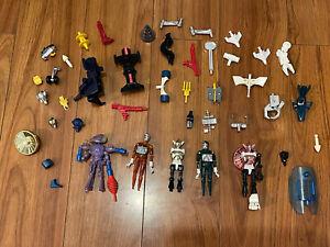 """Vintage Micronauts 4"""" Figure Parts & Accessories"""