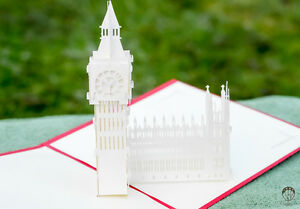 Handmade 3d pop up thank you cards farewell cards special occasion cards