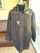 VESTE PARKA HOMME MARRON AE HIGH FASHION T. L Man Brown Parka jacket size L