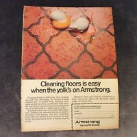 Advertisement - Armstrong Floorings - British -1969