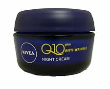 Night Cream Nivea Visage Anti-Wrinkle Q10 Plus Moiturizer Reduces wrinkles 50 Ml