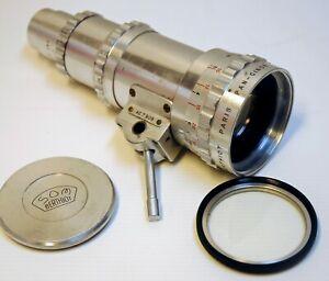 "OBJECTIF SOM BERTHIOT- ZOOM PAN CINOR  F 25/100 m/m-MOUNT ""C"" -16 mm -N°A.C 7909"