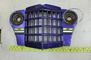 Used OEM Front Grille 1950-53 Willys Overland Jeepster Wagon Truck (G127)