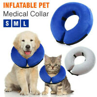 Inflatable Collar Dog Cat Soft Pet Puppy Medical Protection Head Cone