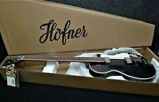 Hofner HCT-500/2-BK contemporary CLUB BASS GUITAR TRANS Black UK VINTAGE STYLE