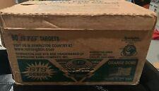 Vintage Remington Blue Rock Clay Pigeon Targets