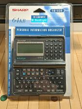 Sharp Y0-430 Yo-430 Electronic Organizer Backlit Handheld Pda Address Phone# New