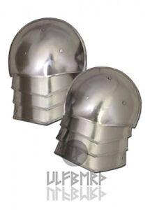 Medieval Shoulder guards Plates, by vimhari 18 GAUGE ARM SHOULDER