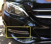 Mercedes C Klasse W205 Comfort 2014-17 Nebelscheinwerfer Leisten aus Edelstahl