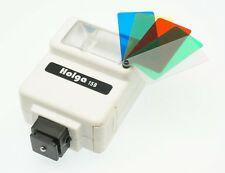 Holga Used White 15B Flash Unit in Acceptable Condition