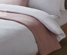 Design Project by John Lewis No.144 White Duvet Cover KING EX-DISPLAY WASHED VGC