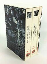 Dictionnaire du Rock coffret de 3 volumes Blues Folk en français. Coll BOUQUINS