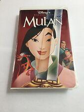 Mulan, Walt Disney, Masterpiece, Vhs, englisch, Selten, Rare, Top