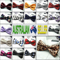 MENS BOW TIE Bowtie Pre-tied wedding formal bowtie tuxedo CHOOSE DESIGN
