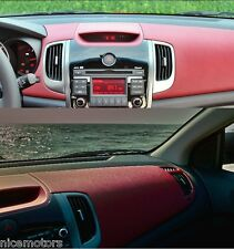 Genuine Red Leather Crash Pad Upper For KIA FORTE KOUP Cerato 2009-2013