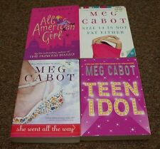 MEG CABOT 4 tradesize bks, SIZE 14 IS NOT FAT EITHER, ALL AMERICAN GIRL, SHE WEN