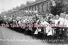 ES 55 - Peace Party Celebrations, Caistor Park Road, Plaistow, Essex - 6x4 Photo