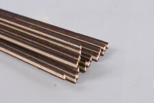 25 Strip Luthier Purfling Binding Marquetry Inlay 640x6x1.2mm Solid Wood #171g