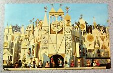 Vintage DISNEYLAND POSTCARD Fantasyland It's A Small World