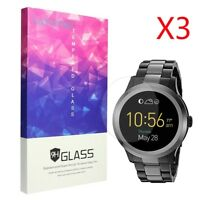 3x 9H Tempered Glass Screen Protector For Fossil Q Founder Gen 2 2Gen