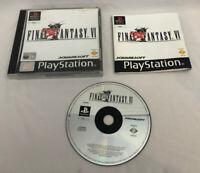 Final Fantasy VI | PS1 Black Label | FFVI FF5 | Playstation 1 | PAL