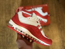 NIKE AIR MAX 98 RED WHITE REFLECTIVE UK8 EUR42.5 US9 NEW IN BOX 1/97 270 98 95